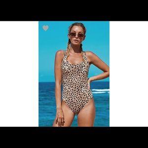 Other - New Leopard Swimsuit Sz XL